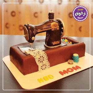 کیک چرخ خیاطی