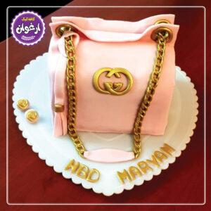 کیک کیف زنانه