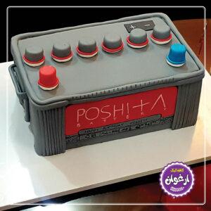 کیک باتری ماشین