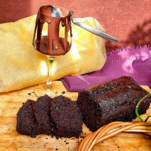 کیک روزانه دبل چاکلت