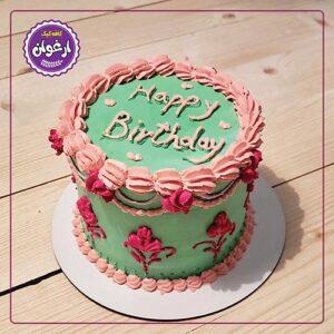 مینی کیک دو رنگ