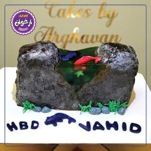 کیک جزیره