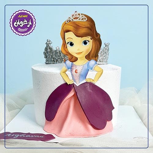 کیک پرنسس سوفیا