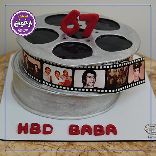 کیک حلقه فیلم