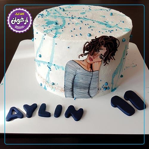 کیک دختر موفرفری